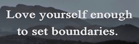 counselor quotes inspirational Inspirational love yourself enough to set boundaries created by the online